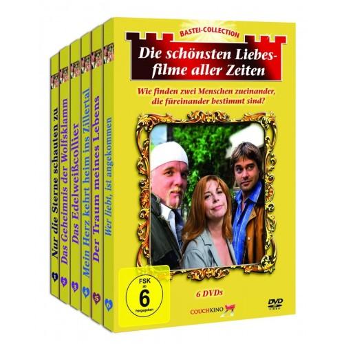 Die Schönsten Liebesfilme Aller Zeiten (6xDVD)