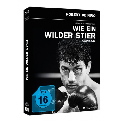 Wie Ein Wilder Stier (Blu-ray) (Mediabook)