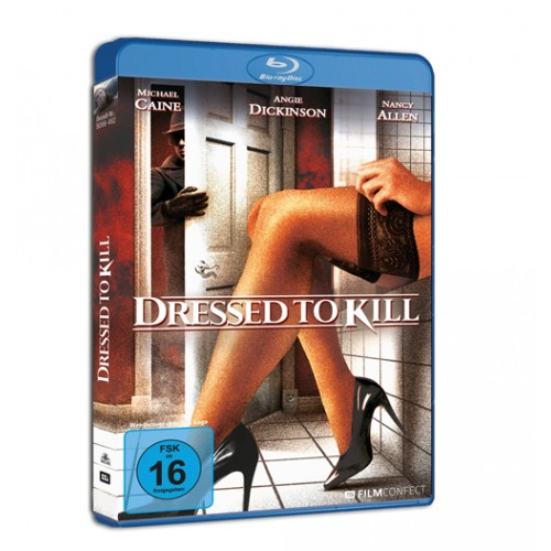 Dressed To Kill (Blu-ray) (Amaray)