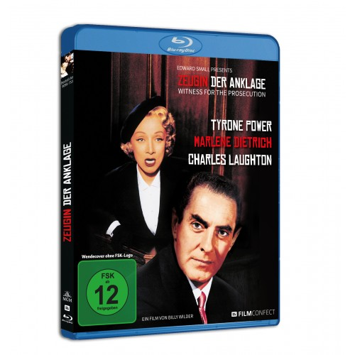 Zeugin der Anklage (Blu-ray) (Amaray)