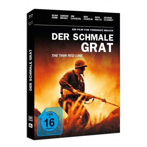 Der schmale Grat (Mediabook) Blu-ray