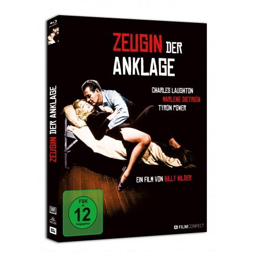 Zeugin der Anklage (Blu-ray) (Digipak)