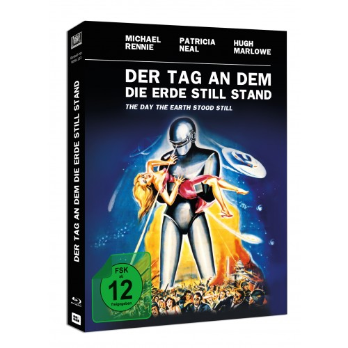 Der Tag an dem die Erde stillstand (Mediabook) Blu-ray