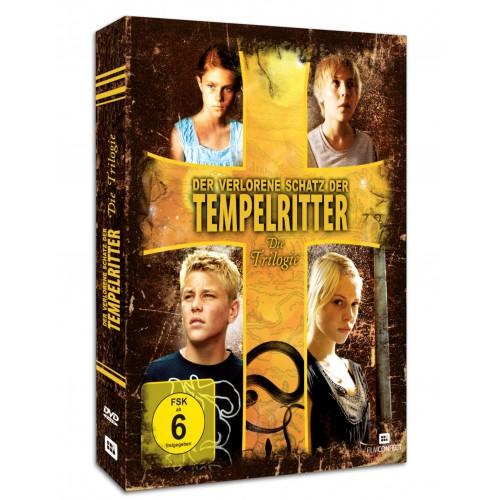 Der verlorene Schatz der Tempelritter - Die Trilogie