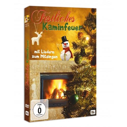 Festliches Kaminfeuer (DVD)
