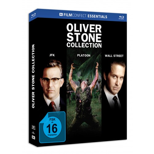 Oliver Stone Collection (Mediabook) Blu-Ray