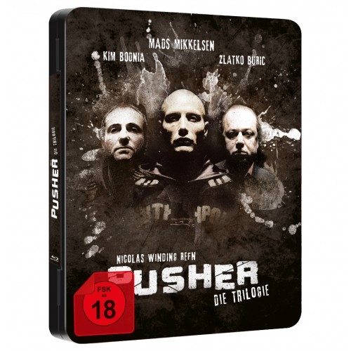 Pusher - Die Trilogie (Blu-ray) (FuturePak)