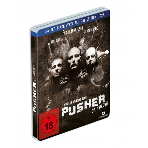 PUSHER-Trilogie (Blu-ray) (Black Steel Edition)