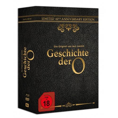 Geschichte der O- 40th Anniversary Edition mit Halsband...