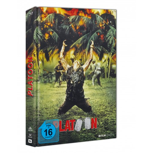 Platoon (Blu-ray) (Mediabook)