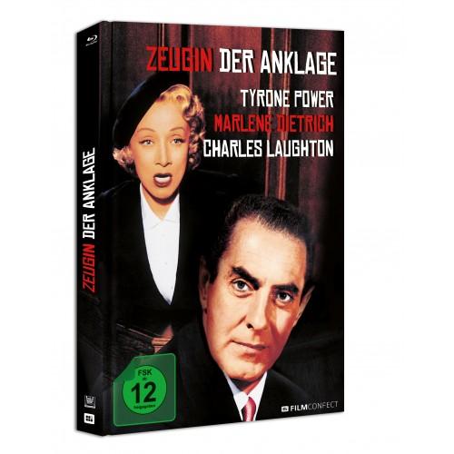Zeugin Der Anklage (Blu-ray) (Mediabook)