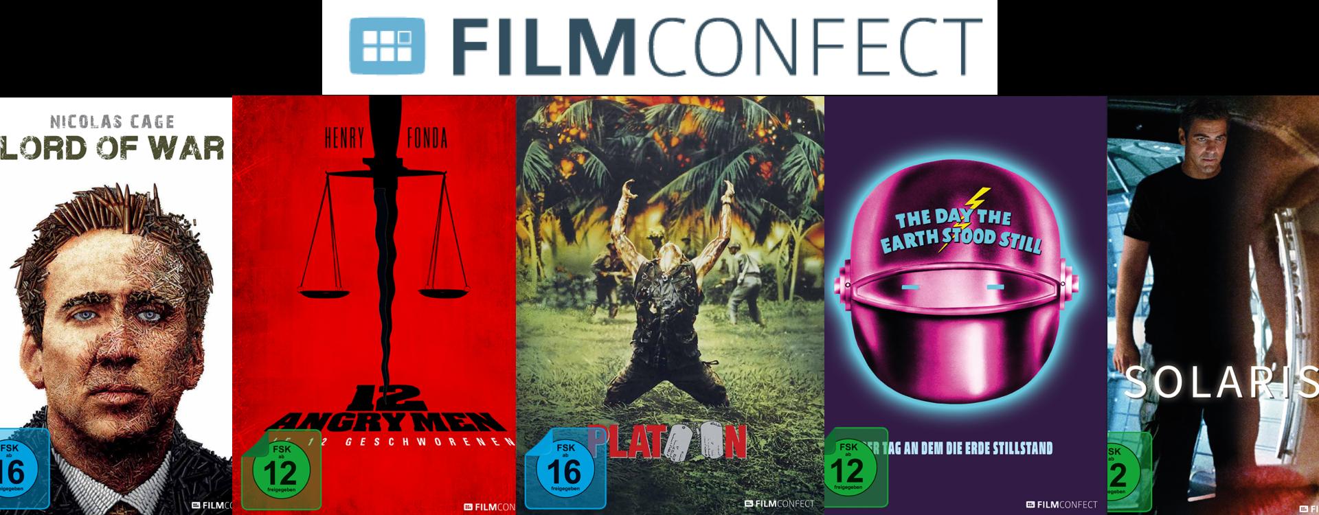 Exklusiv bei Müller - FilmConfect Mediabooks