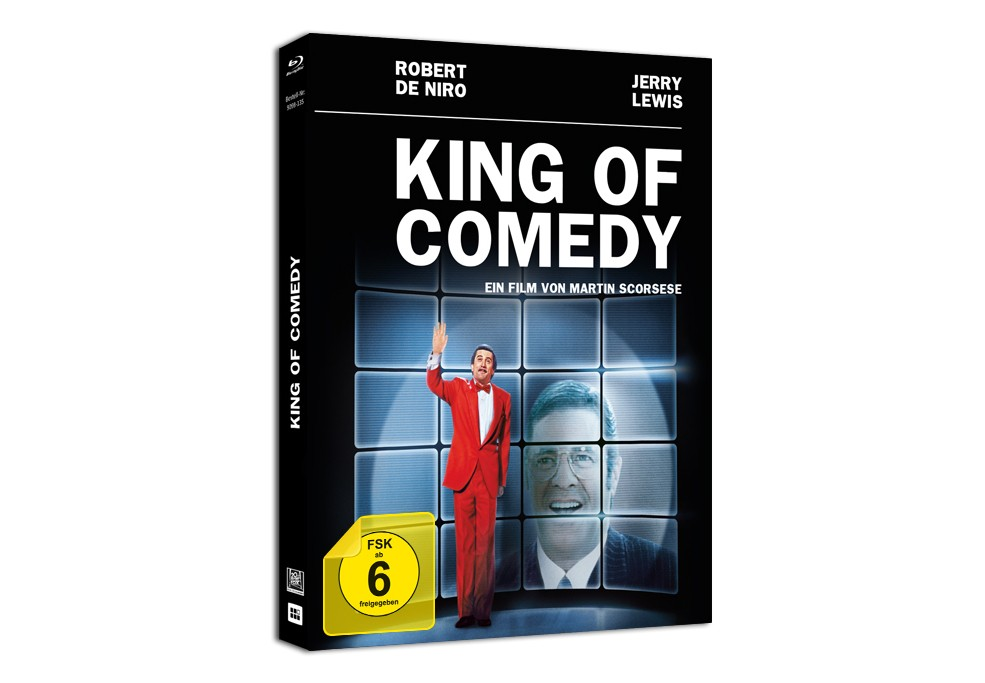 "Blu-ray-Premiere von ""King of Comedy"""